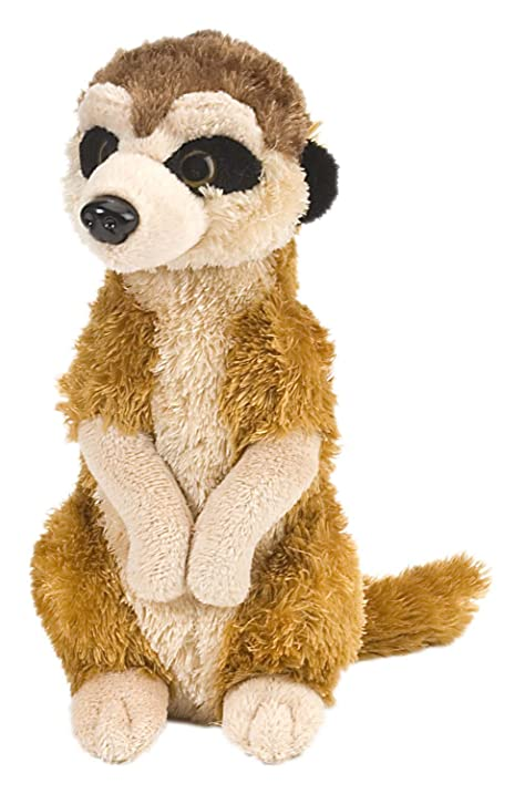 "Wild Republic CK-Mini Meerkat 8"" Animal Plush"