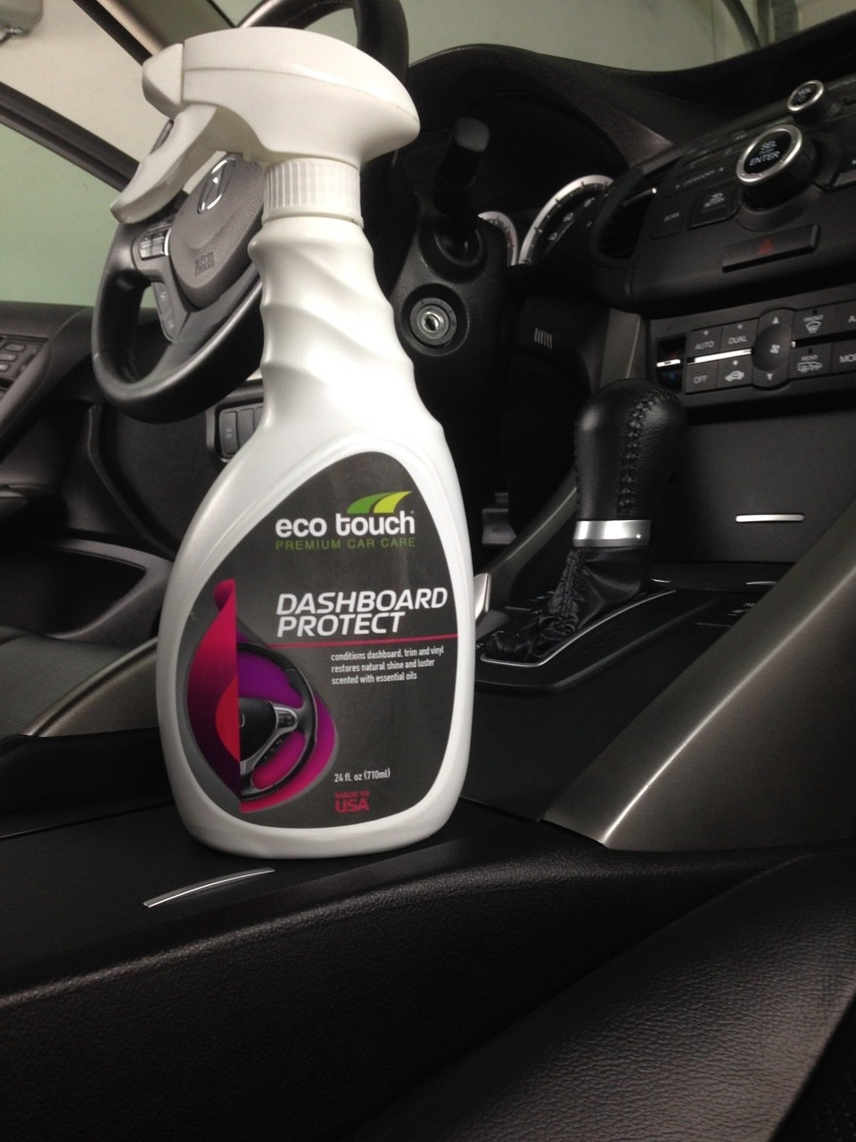 Amazoncom Eco Touch Car Interior Cleaner And Protectant For - Car signs on dashboardlets be honest you have no idea what your car dashboard signs
