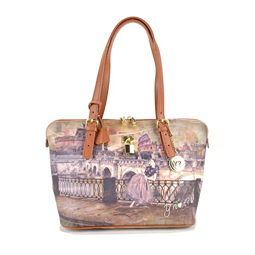 Borsa a spalla Y Not - I388 Roma Retro RRT  Amazon.it  Scarpe e borse a460457338a