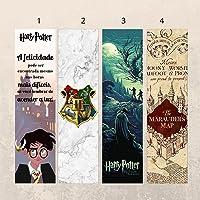 Marcadores de página - Harry Potter (kit com 4 unidades)