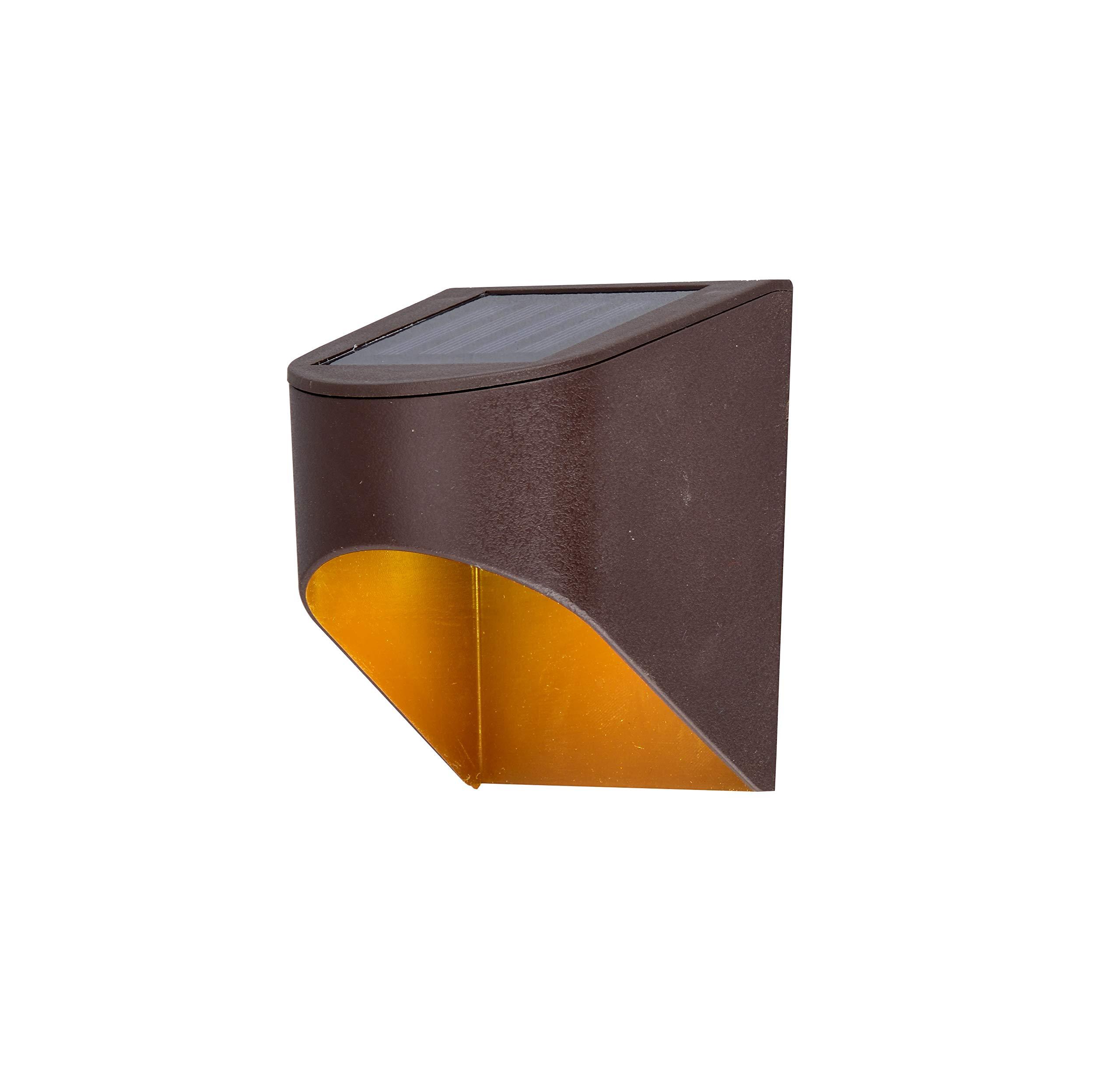 Solar Decklight,Bronze Downcast-2pk
