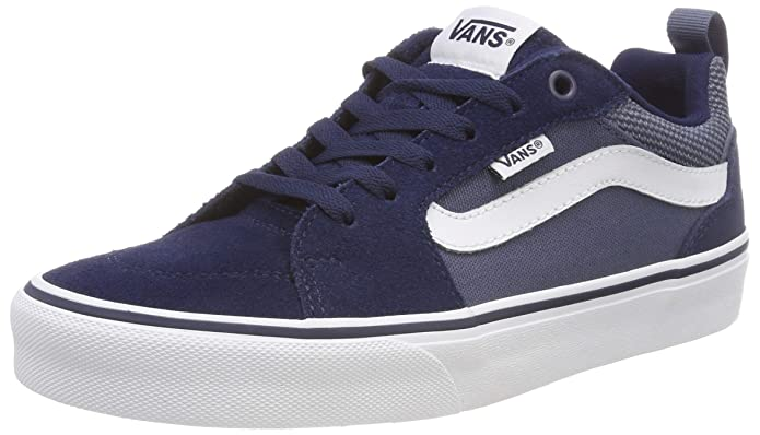 Vans Filmore Sneakers Suede/Canvas Blau (Dress Blues/Vintage Indigo)