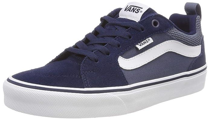 Vans Filmore Sneakers Suede/Canvas Blau (Dress Blues/Vintage Indigo)