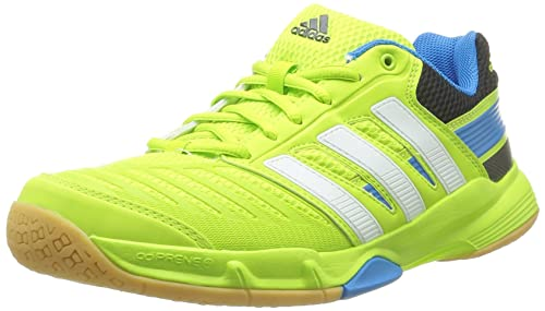 191bd70a7 Adidas Court Stabil 10.1 Indoor Court Shoes - 9 - Green  Amazon.ca ...