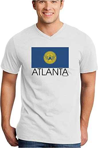 TooLoud Atlanta Georgia Flag Toddler T-Shirt