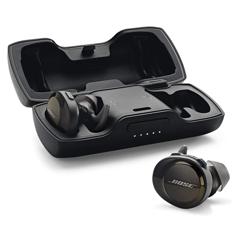 9c2f9241fdc Bose SoundSport Free wireless headphones - Black: Amazon.ae