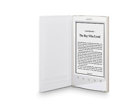 Sony PRSA-SC22 - Funda blanda para ebook Sony PRS-T2, color blanco ...