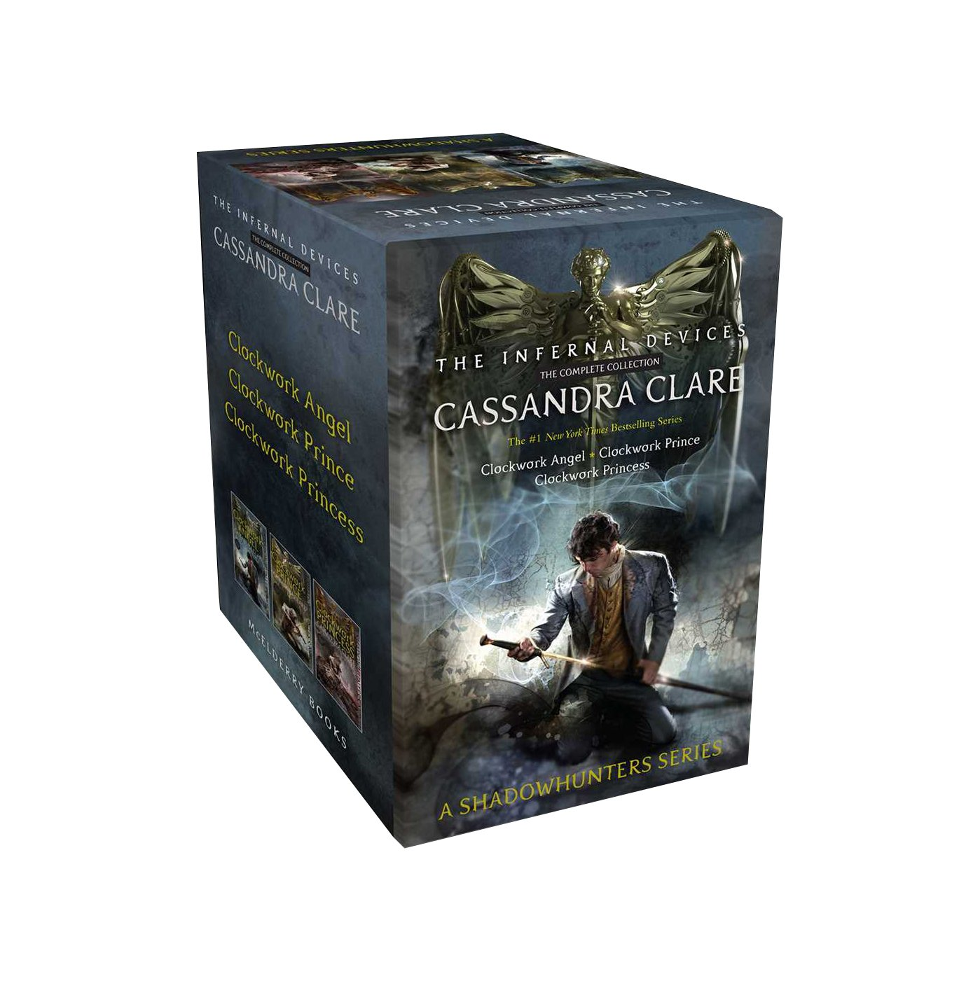 Infernal Devices - The Complete Collection: Clockwork Angel / Clockwork Prince / Clockwork Princess The Infernal Devices: Amazon.es: Clare, Cassandra, Nielsen, Cliff ...