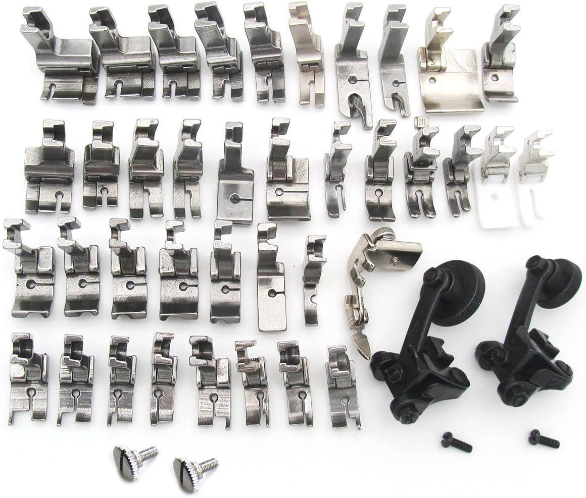 Para Juki ddl-830085008700Set de prensatelas de máquina de coser 40# kp-snpf40