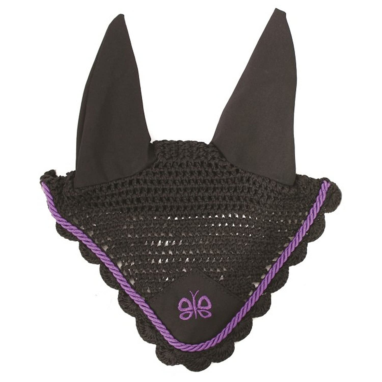 JHL Butterfly Fly Veil Black//Purple Full