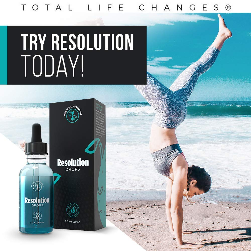 TLC IASO Diet Duo Resolution & Life Weight Loss Drops: 2 Oz - 60 ML (Resolution & Life Drops) by Total Life Changes