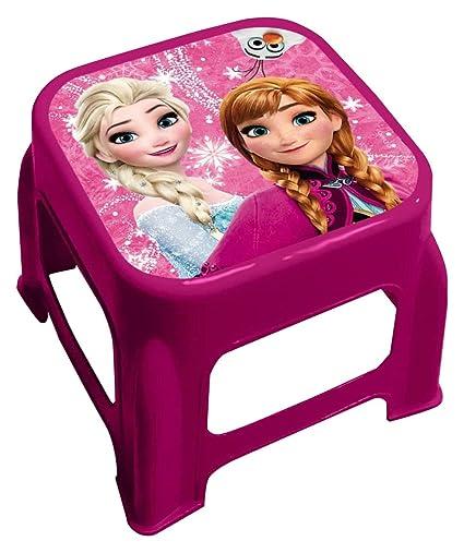 01133876605d Amazon.com: Star Disney Frozen Art. Code- 42673, Plastic Stool with ...