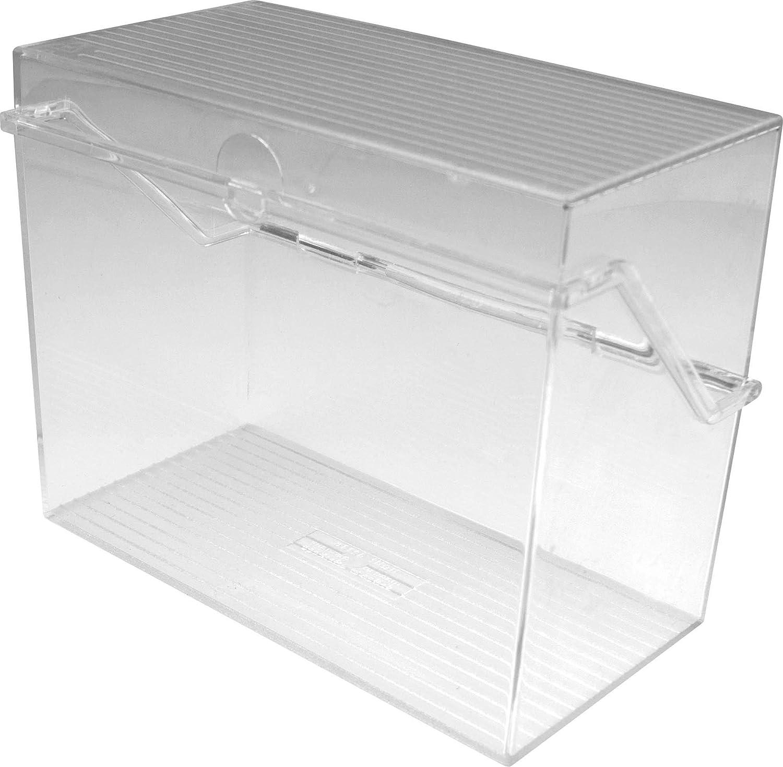 helit h6214702/Petit kartei pour 300/cartes DIN A7 transparent horizontal