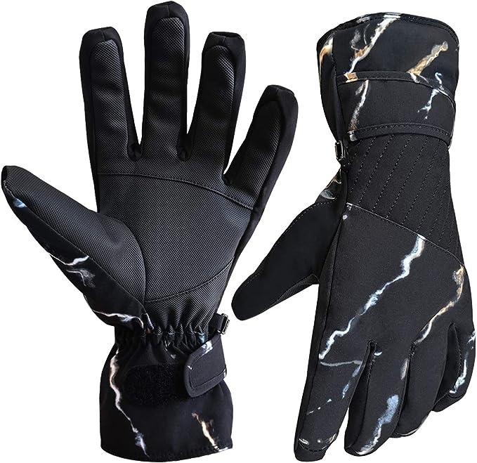 Winter Gloves Men Women Thermal Gloves Waterproof Gloves Ski Gloves Thinsulate