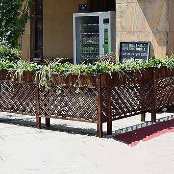 Amazon.com: Parrilla de madera para flores, diseño de flores ...