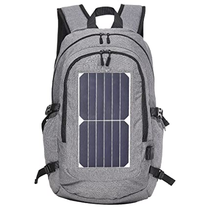 27e4da7c858f Amazon.com   Travel Business Solar Powered Backpack for Men Women ...