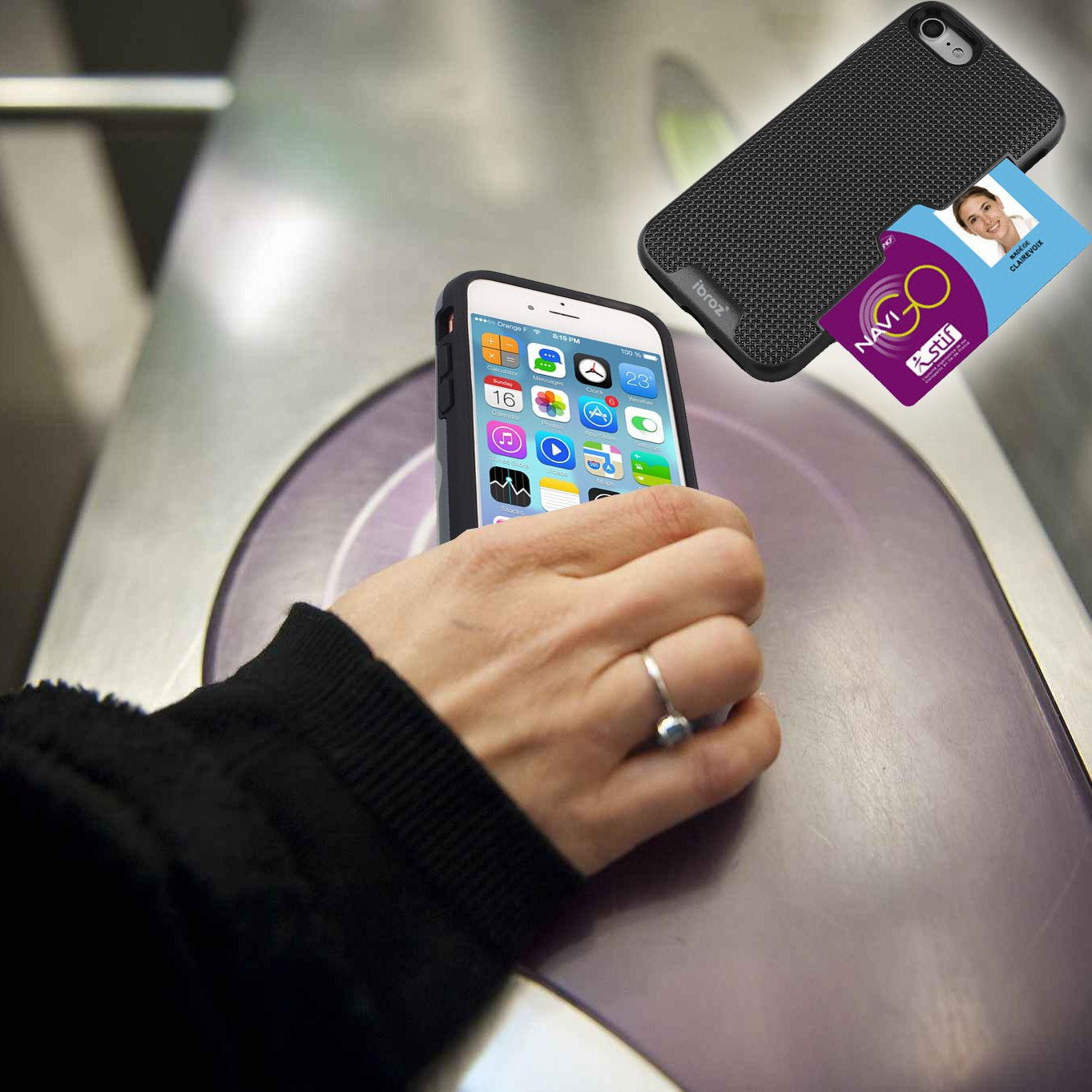 ibroz carcasa iphone