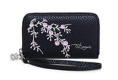 Desigual Mone Mini Zip Blossom Negro: Amazon.es: Zapatos y ...