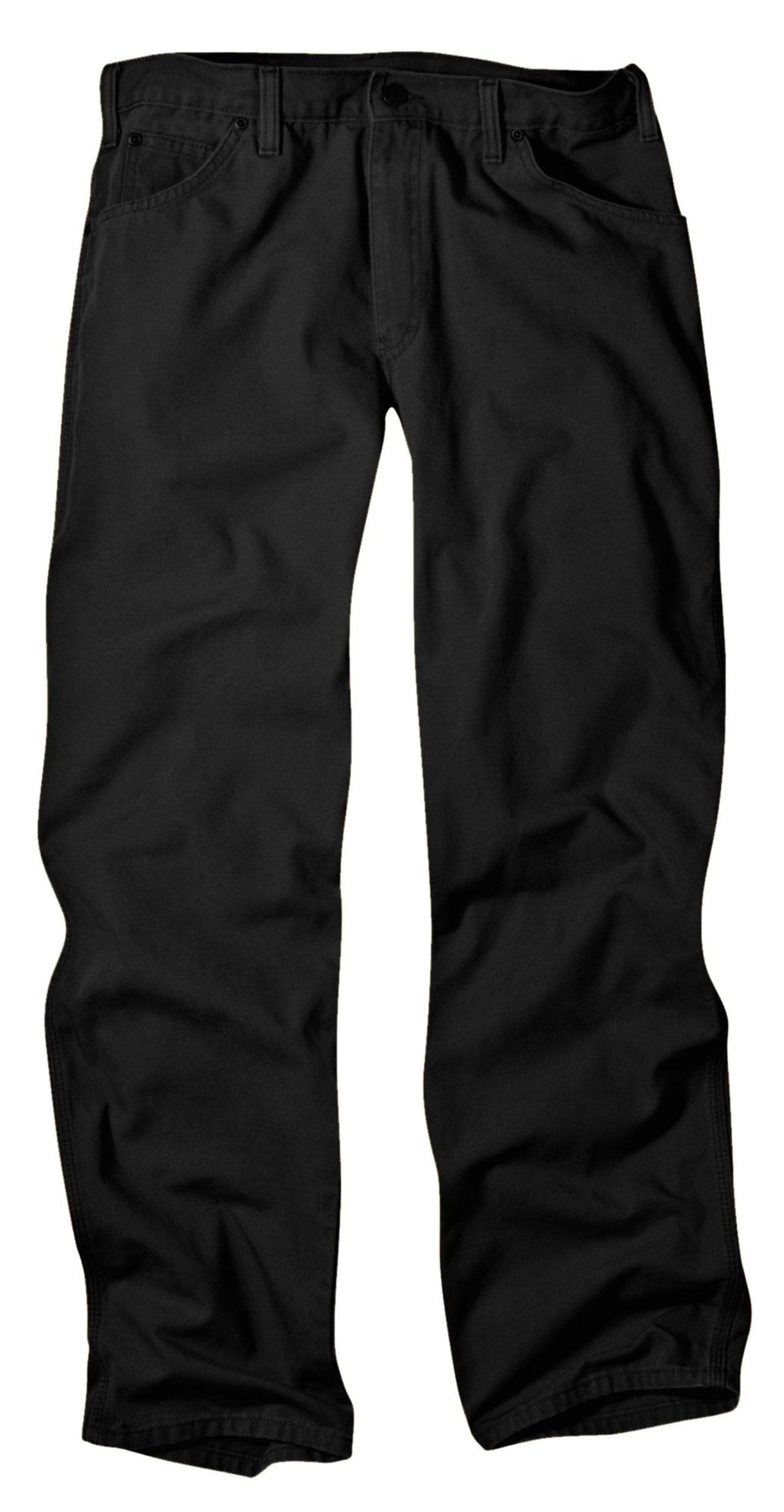 Dickies Men's Relaxed Fit Duck Jean, Black, 32x32