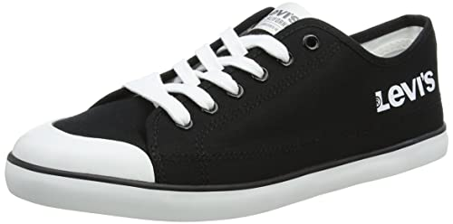 Levis Venice L, Zapatillas para Hombre, Negro (Noir Regular Black), 43