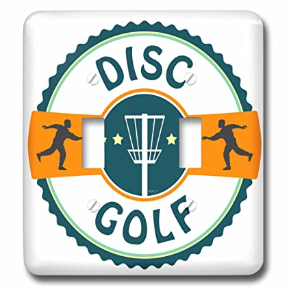 3drose Lsp 174727 2 Disc Golf Silhouette Of Putters Throwing At A