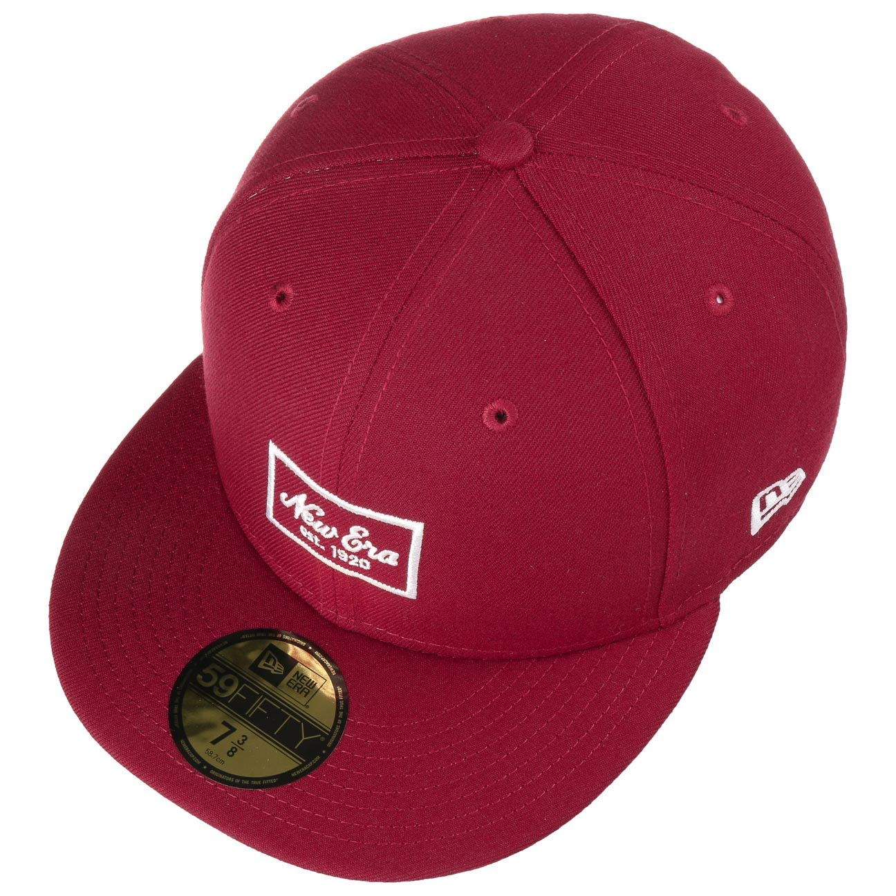 NEW ERA NEW YORK YANKEES MIGHTY STITCH BASEBALL CAP 59FIFTY Black SIZE 7 1//2