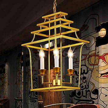 LCK Luces colgantes, lámpara de araña Lámpara de techo de luz ...