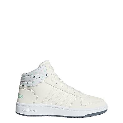 adef8e999115 adidas Kids Girls Boots Shoes Hoops Mid 2 Sporty Sneaker Fashion Girl New  B75751 (EU