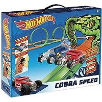 Hot Wheels- Cobra Speed Circuito Slot, Color único