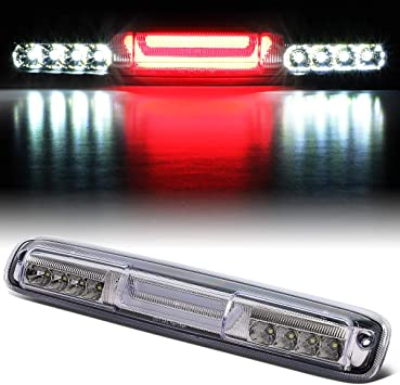 For 07-13 Silverado Sierra 1500 3D Tube Third Brake Light High Stop Cargo Lamp