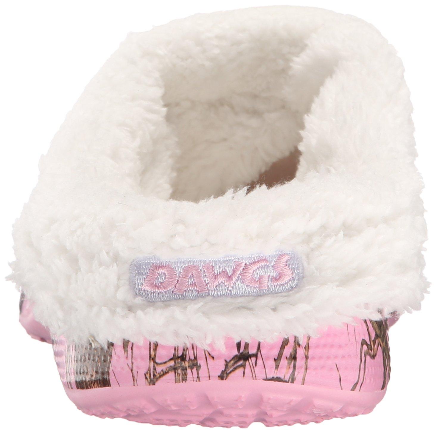 DAWGS Women's Mossy Oak Fleecedawg Mule B00PTJUOD0 8 B(M) US|Breakup Infinity/Pink