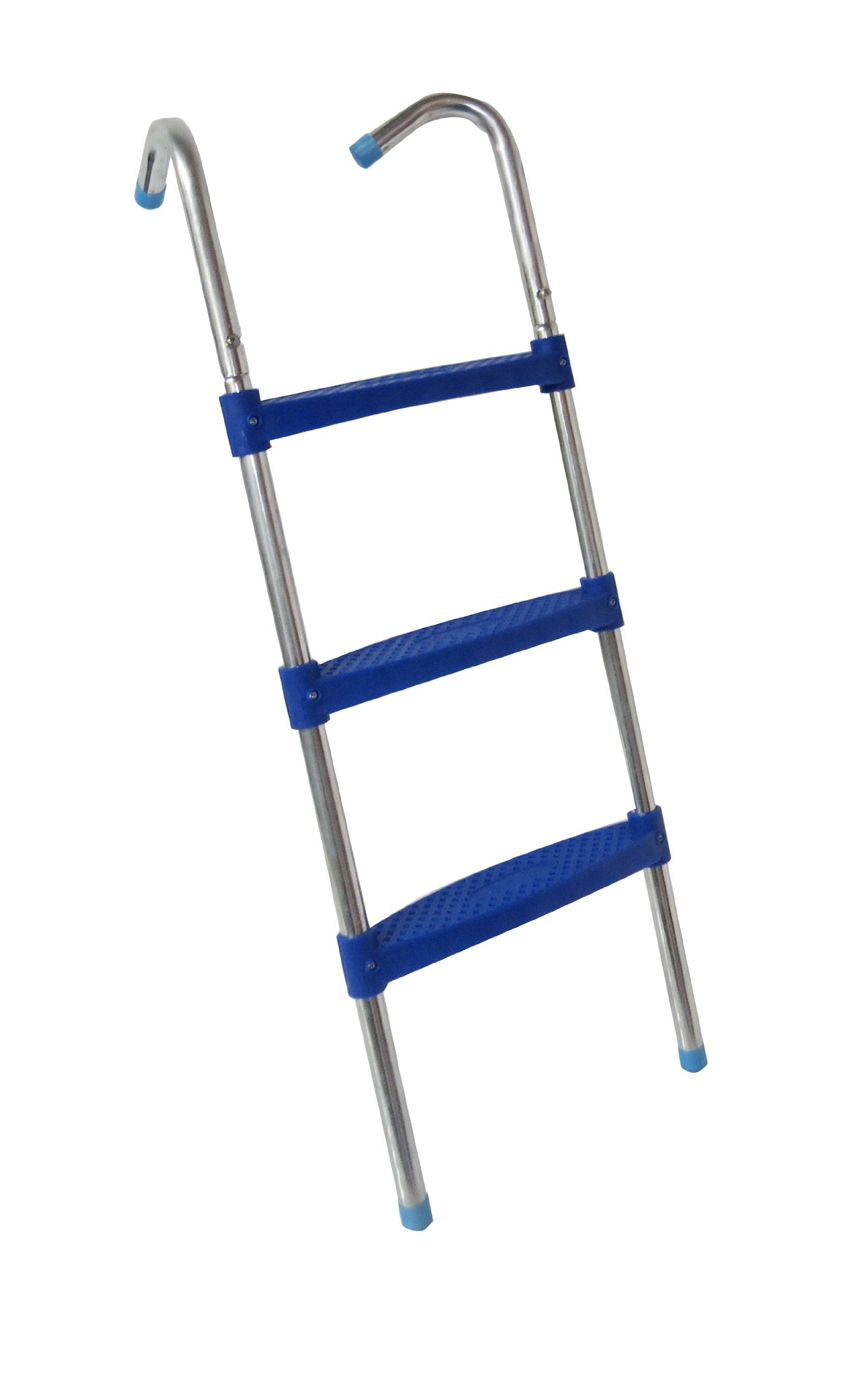 Upper Bounce 3 Steps Trampoline Ladder (Blue, 42-Inch) by Upper Bounce