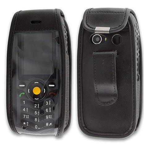 7d8ef35085fc9 caseroxx - Housse de téléphone Portable à Clip pour Cat B25 en Cuir  veritable  Amazon.fr  High-tech