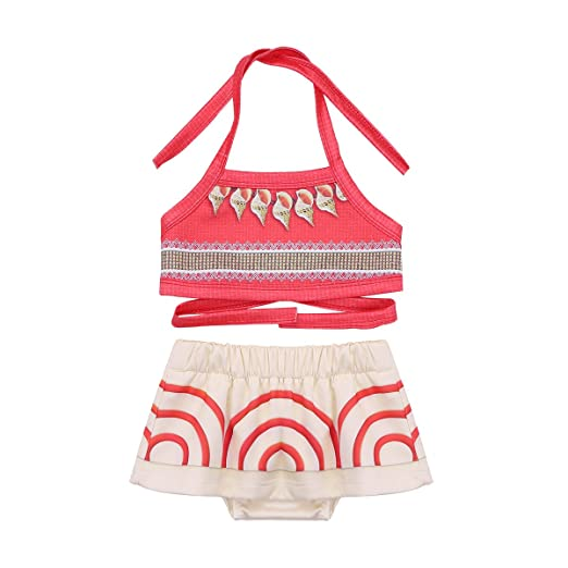 CHICTRY Toddler Girls Baby Fancy Dress Costume Halter Beachwear Swim Wear Bikini Bathing Suits Red(  sc 1 st  Amazon.com & Amazon.com: CHICTRY Toddler Girls Baby Fancy Dress Costume Halter ...