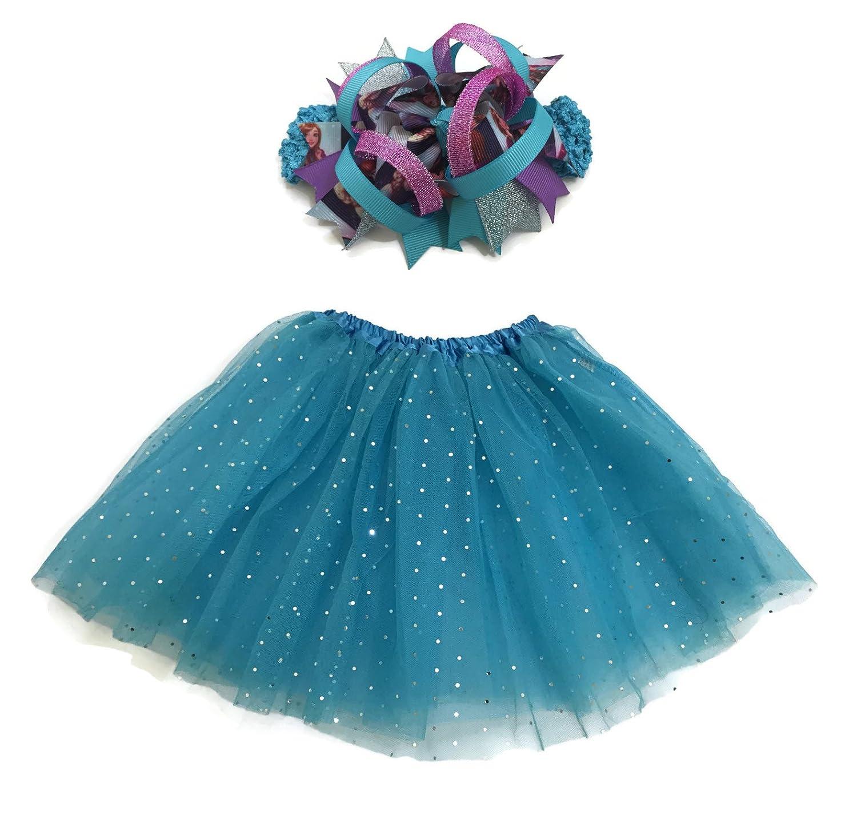 Amazon.com: Rush Dance Ballerina Girls Dress-Up Queen Elsa Frozen ...