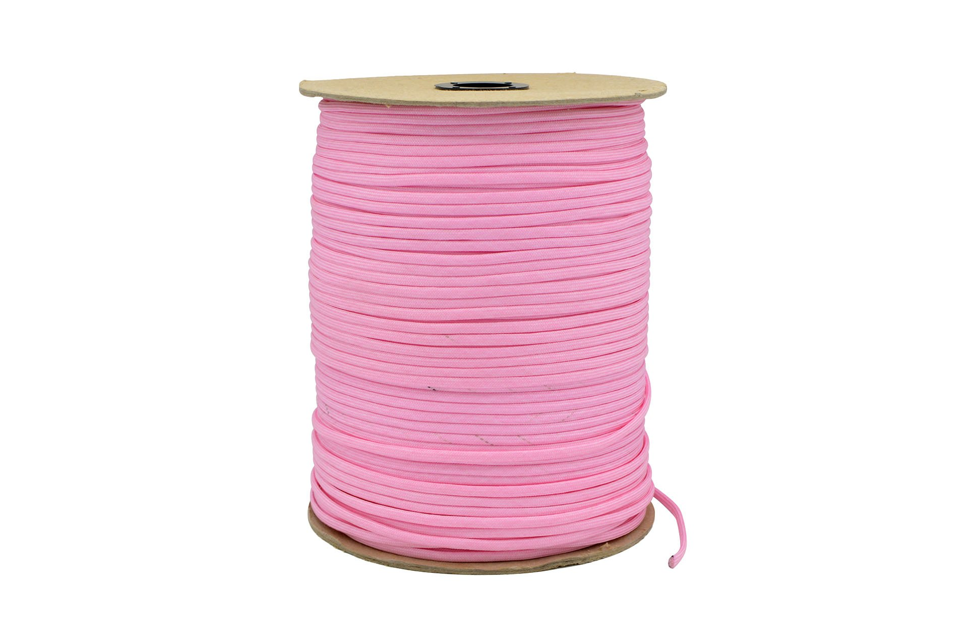 Paracord Rope 550 Type III Paracord - Parachute Cord - 550lb Tensile Strength - 100% Nylon - Made In The USA (Rose Pink, 1000 Feet) by Paracord Rope (Image #3)