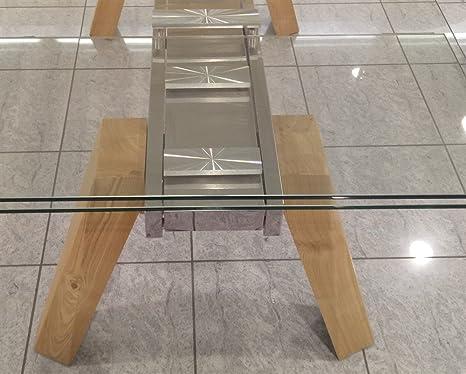 Emporio3 Tavolo da cucina allungabile in vetro Cervino - SG1521 ...