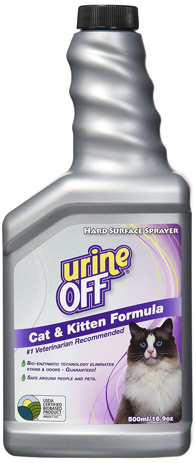 Orina Off pulverizador para Gatos, 16.9-Ounce: Amazon.es: Productos ...