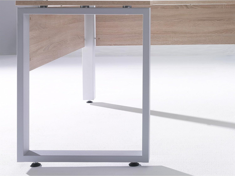 Schreibtisch Eckschreibtisch Arbeitstisch Bürotisch Sonoma Eiche