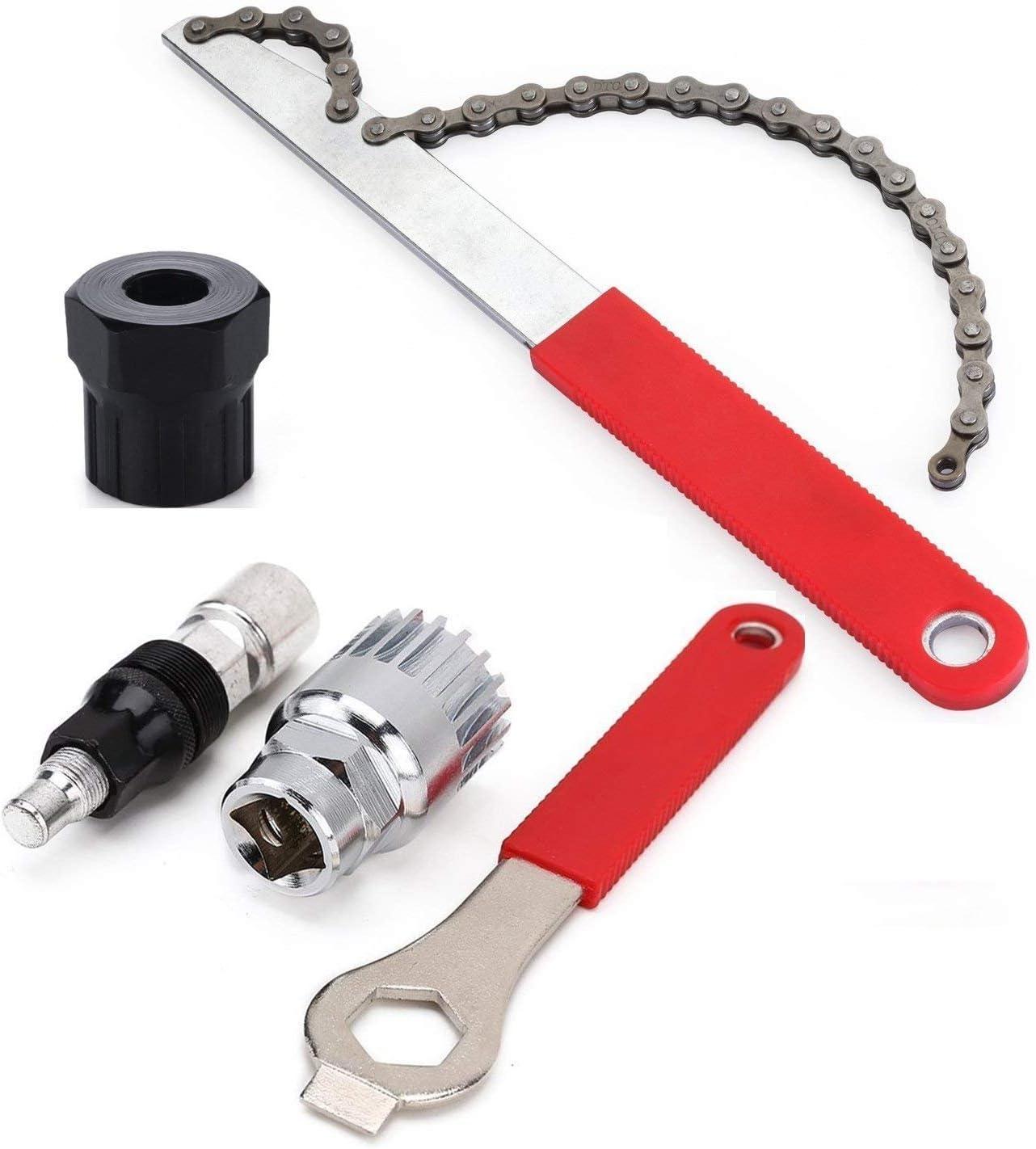 Cuasting - Extractor de manivela de bicicleta para pedalier y reparación de llaves de pedalier: Amazon.es: Deportes y aire libre