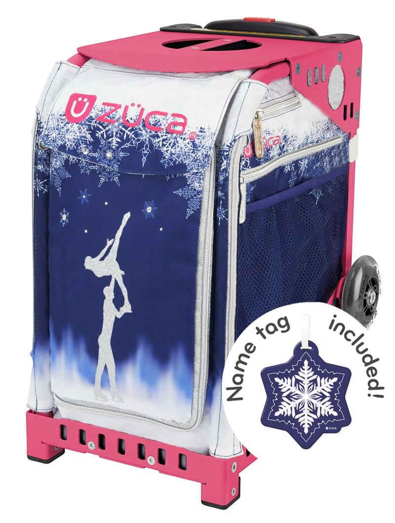 ZUCA Bag FOREVER SKATE 限定版 - 無料ネームタグ - フレームカラーをお選びください ピンク Frame (w/flashing wheels)