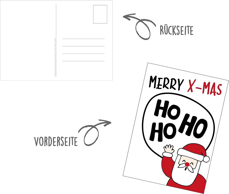 Edition Seidel Set di cartoline natalizie 30 Karten set 2