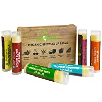 Deals on 6 Pack Sky Organics USDA Organic Lip Balm