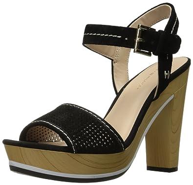 c32a4c03b Amazon.com  Tommy Hilfiger Women s Weslee Heeled Sandal  Shoes