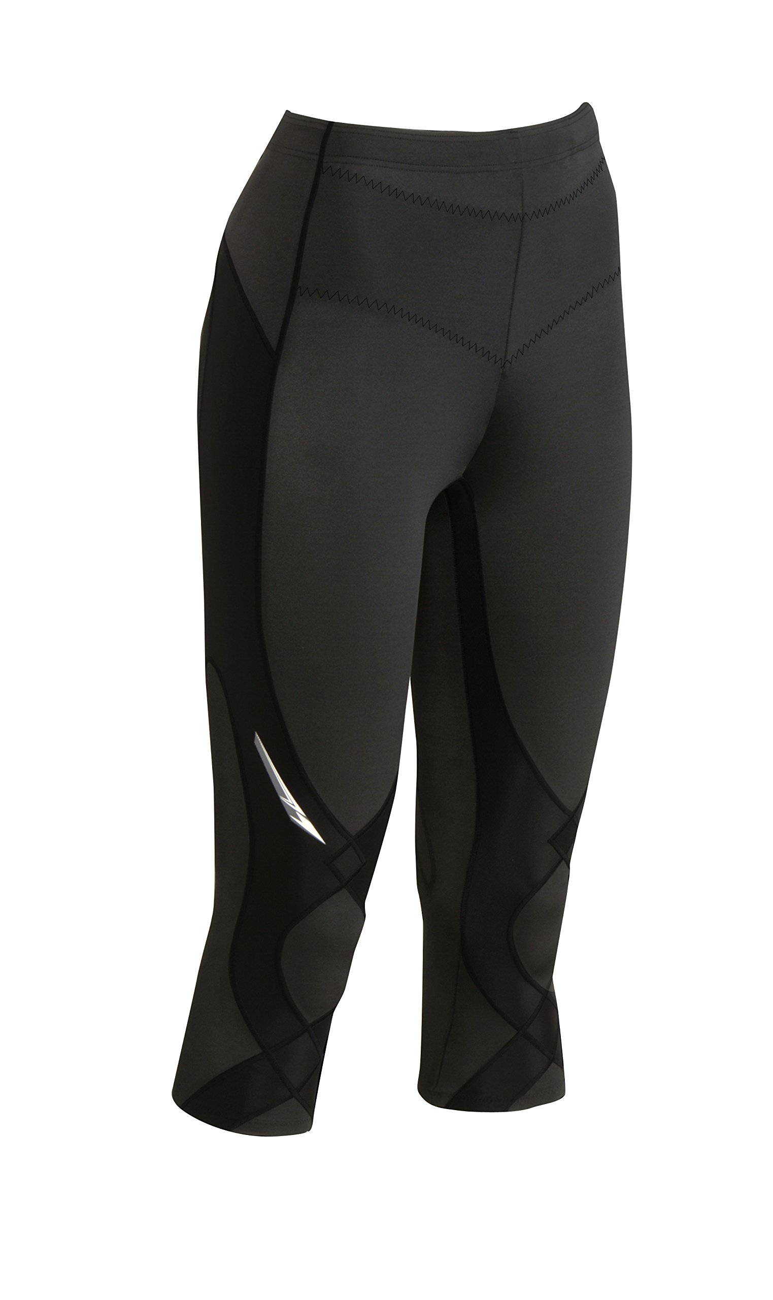64341238bdc3 CW-X Women s Stabilyx Joint Support 3 4 Capri Compression Tight product  image