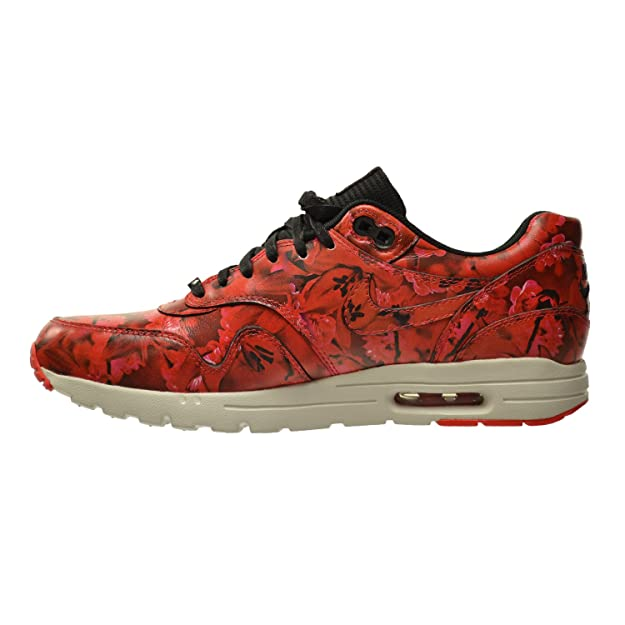 pretty nice 8f581 ad885 Amazon.com   Nike Air Max 1 Ultra LOTC QS Shanghai Women s Shoes Challenge  Red Summit White-Black 747105-600   Fashion Sneakers