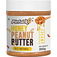 Pintola All Natural Honey Peanut Butter, Creamy, 350g