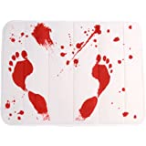 """Bloody Shower Mat, (23.5"""" x 17"""")"""