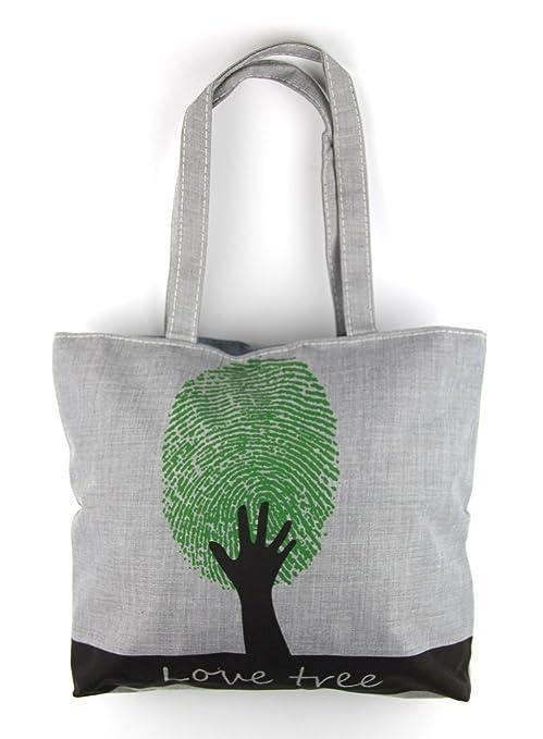 e30d4796c59b5 Amazon.com  RayLineDo Reusable Fashion Canvas Beach Tote Bag Mummy ...