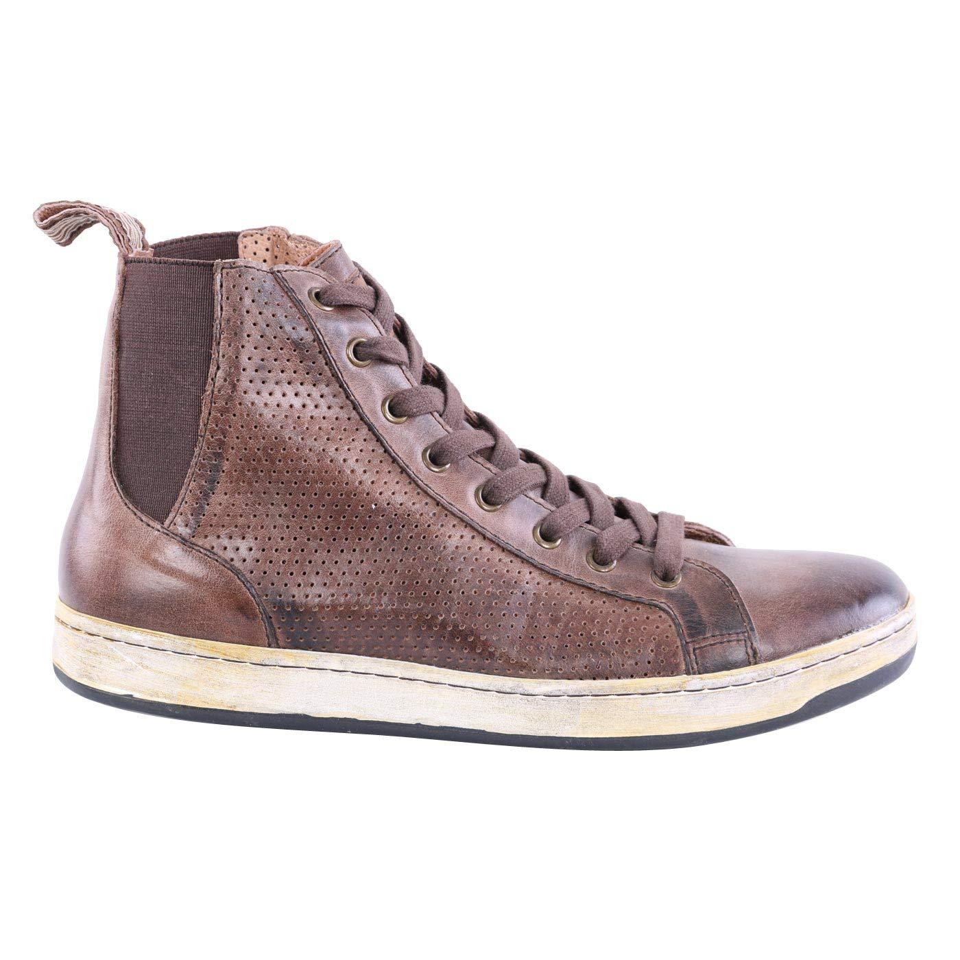 Matchless Damen Leder Turnschuhe Schuhe Brighton HIGH Vent braun 142021 Größe 37